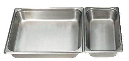 18-8テーブルパン[2] 2/1×65mm 2212[2] 【ステンレスホテルパン】【ステンレステーブルパン】【18-8ステンレス】【業務用】