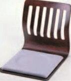 格子和座椅子 ブラウン【椅子】【座椅子】【イス】【和室椅子】【旅館に】【R-1-1】