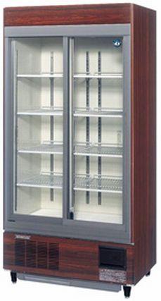 【送料無料】新品!ホシザキ リーチイン冷蔵ショーケース(木目調)RSC-90C-1B [厨房一番]