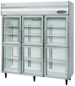 RS-180Z3-6G ホシザキ リーチイン冷蔵ショーケース ユニット上置き 分割扉式 送料無料