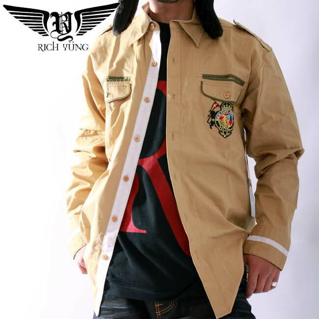【SALE】リッチヤング L/S シャツ RY-2003 トラディションRICH YUNG L/S Shirt RY-2003 Tradition【あす楽対応_近畿】【あす楽対応_中国】【あす楽対応_四国】【あす楽対応_九州】