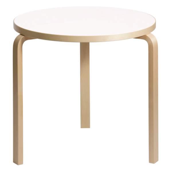 【大型家具】Artek アルテック 家具 90Bテーブル ホワイト ラミネート 172001*納期は受注後お知らせ致します。