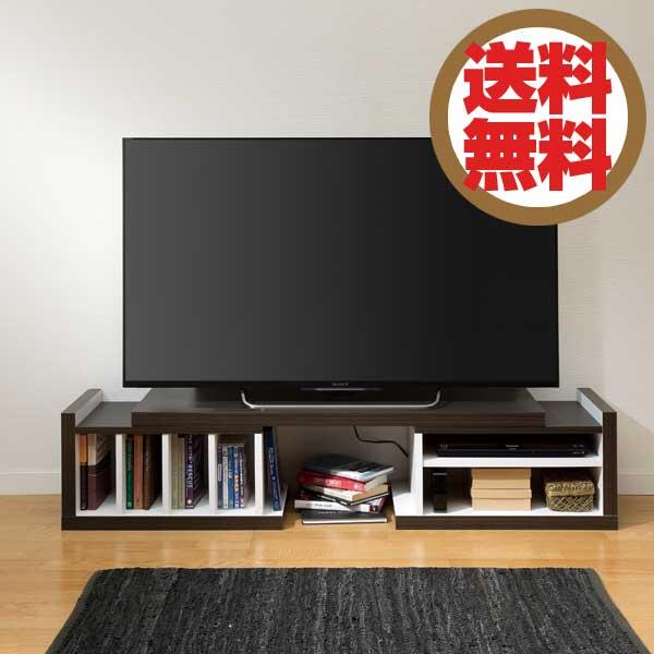 大洋 TAIYO ブローブ 伸縮テレビボード BLB 3513 SB ストライプブラウン 【送料無料】【代引不可】