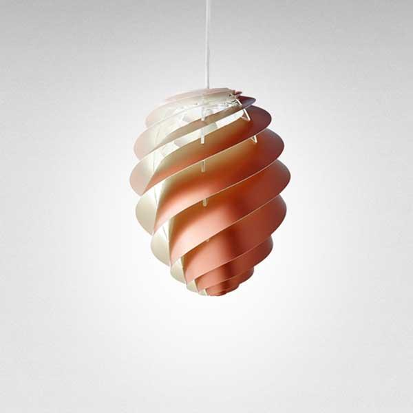 レクリント LE KLINT ペンダントランプ Pendant Lamp スワール 2 SWIRL 2 Sサイズ コッパー KP1312SCP 【送料無料】