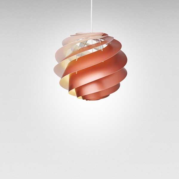レクリント LE KLINT ペンダントランプ Pendant Lamp スワール 3 SWIRL 3 Sサイズ コッパー KP1313SCP 【送料無料】