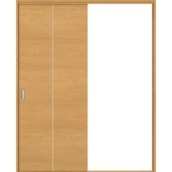 片引戸 標準ドア Vレール方式 錠無し ノンケーシング枠 / ケーシング枠 WKH-CF2 ウッディーライン リクシル 1420 / 1620