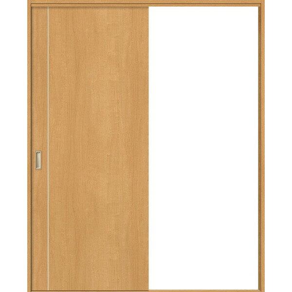 片引戸 標準ドア Vレール方式 錠無し ノンケーシング枠 / ケーシング枠 WKH-CFF ウッディーライン リクシル 1820