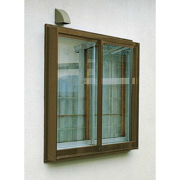 LIXIL トステム 窓サッシ アルガード 後付け外窓 4枚建て テラス ランマ付き 幅:3,640mm 高さ:2,383mm LIXIL トステム 74120