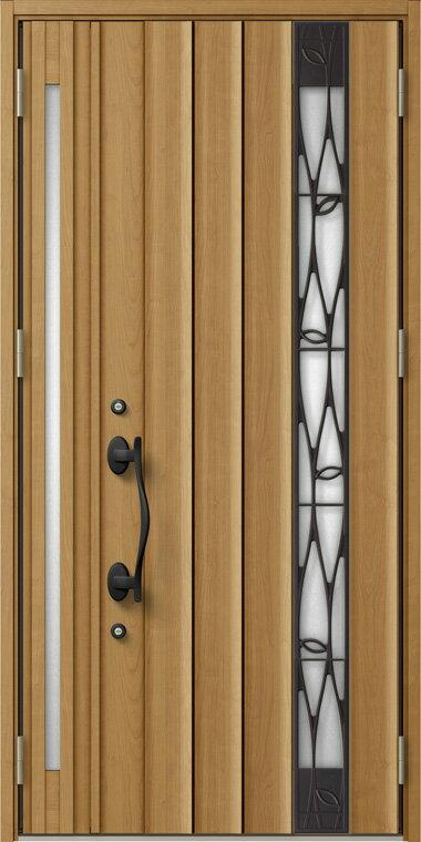 ジエスタ GIESTA P14型 K4仕様 親子ドア 入隅タイプ W:1,138mm×H:2,330mm 断熱 玄関 ドア リクシル LIXIL