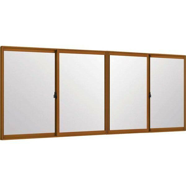 トステムインプラス 引き違窓 4枚建 単板ガラス 和紙調3mm組子付ガラス: 幅1500~2000mm×高1001~1400mm リクシル 内窓 TOSTEM LIXIL