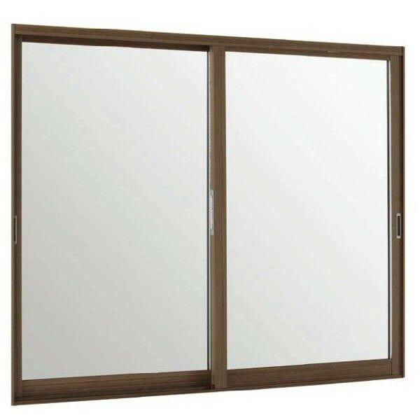 トステム インプラス ウッド 引��窓 2枚建 複層ガラス �明3mm+�明3mmガラス: 幅1001~1500mm×高1001~1400mm リクシル 内窓 TOSTEM LIXIL