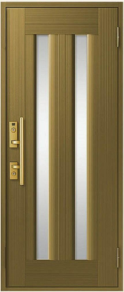 玄関ドア リクシル クリエラR 片開きドア 17型 内付型 特注寸法 W:725~790mm H:1,306~2,006mm