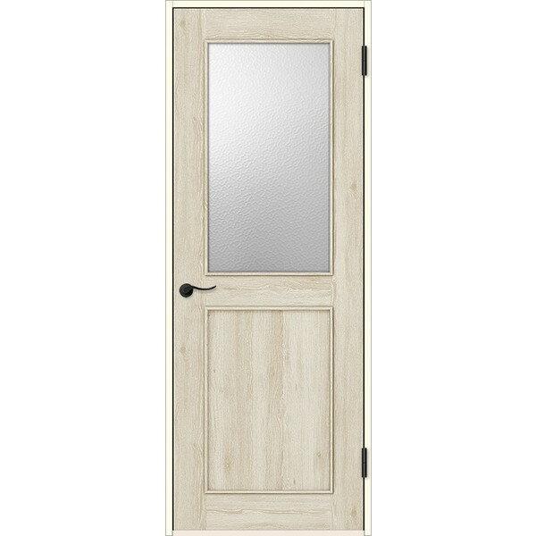 室内ドア 標準ドア アンティーク熱処理ガラス 錠付 FTH-CM8  オーダーサイズ W704-957mm H2013-2100mm ファミリーラインパレット リクシル
