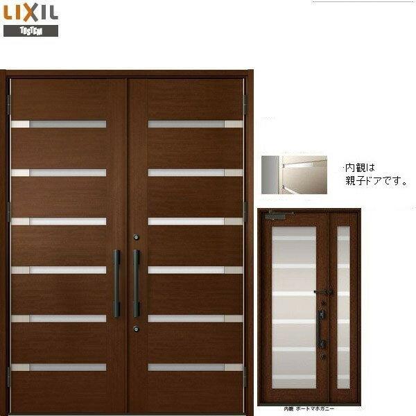 玄関 ドア リクシル プレナスX C41型デザイン 両開きドア 幅1692mm×高さ2330mm