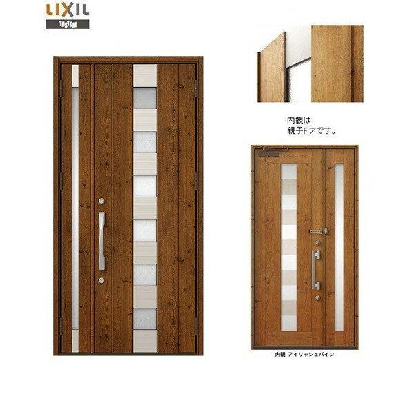 玄関 ドア リクシル プレナスX N14型デザイン 片袖ドア 幅1240mm×高さ2330mm