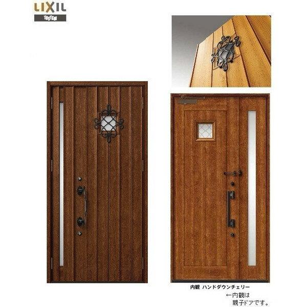 玄関 ドア リクシル プレナスX T12型デザイン 親子入隅ドア 幅1138mm×高さ2330mm