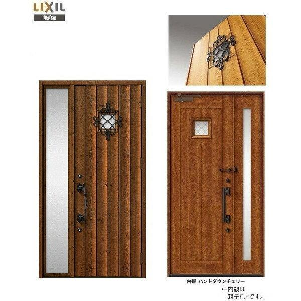 玄関 ドア リクシル プレナスX T12型デザイン 片袖ドア 幅1240mm×高さ2330mm