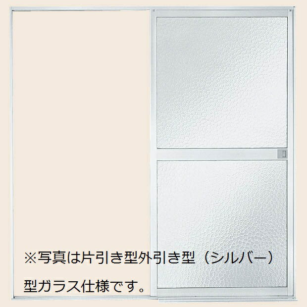 浴室 引戸 片引き戸・内引き型(浴槽側)樹脂パネル仕様U-12-18:[幅1215mm×高1818mm] リクシル トステム LIXIL TOSTEM