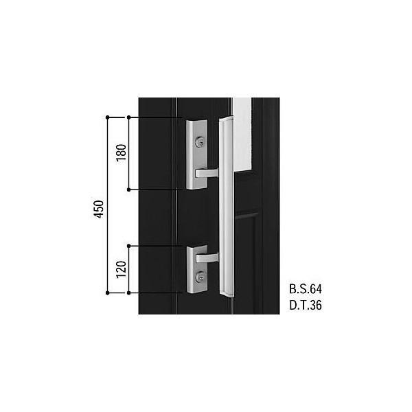 【YKKAPメンテナンス部品】プッシュプルハンドル(HH-J-0621)