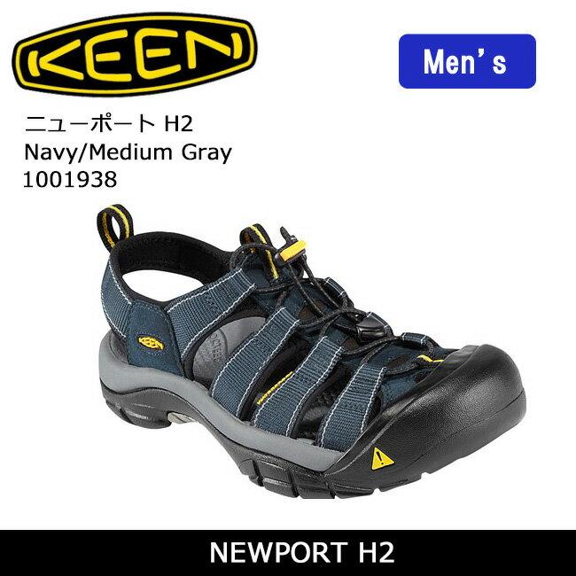 キーン KEEN サンダル NEWPORT H2 ニューポート H2 Navy/Medium Gray 1001938 /メンズ 【靴】 アウトドア 海 トラベル