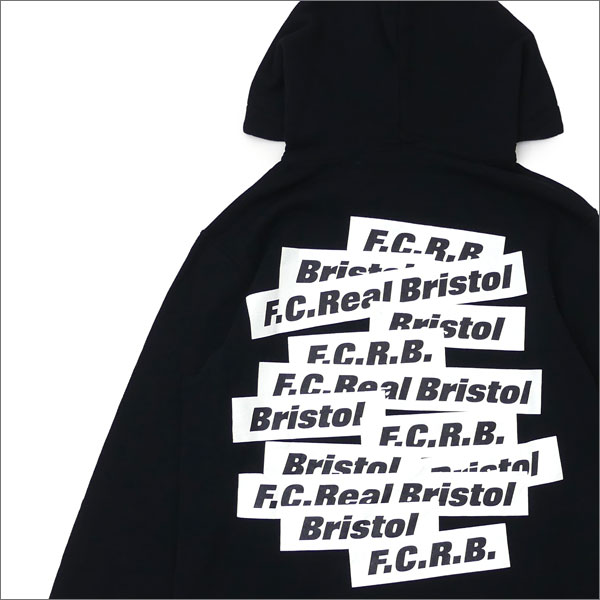 F.C.R.B.(エフシーアールビー) SUPPORTER PULLOVER HOODY(RISEMUFF) (スウェットパーカー) BLACK 211-000510-031x【新品】