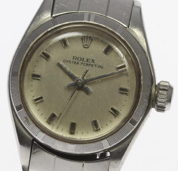 【ROLEX】ロレックス オイスターパーペチュアル 6623 cal.1161 自動巻き レディース【中古】