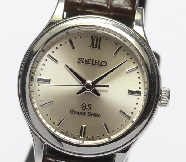 【SEIKO】SEIKO グランドセイコー 4J51-0A10 SS×革 クォーツ レディース【中古】【170604】