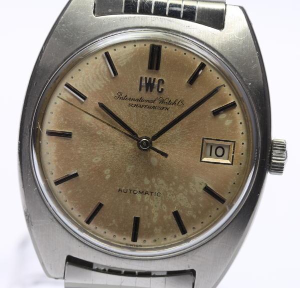 可動品【International Watch Co】IWC ヴィンテージ Cal.8541B  自動巻き メンズ 【中古】【170704】