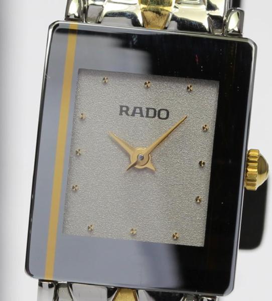 【RADO】ラドー ダイアスター 153.0489.3 QZ コンビブレス レディース【中古】【170704】
