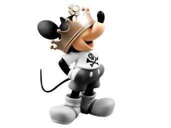 VCD Crown Mickey(ノンスケール PVC製塗装済み完成品) メディコム・トイ