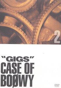 GIGS ― CASE OF BOφWY 2 [DVD] BOΦWY 新品