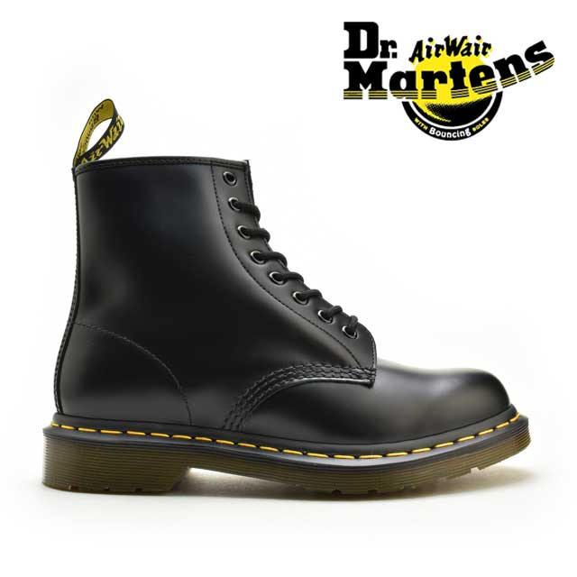 ドクターマーチン 8ホール ブラック 黒 Dr.MARTENS 1460 8EYE BOOTS R11822006 メンズ レディース