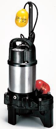 ツルミポンプ 汚物用【50PUA2.4S】水中ハイスピンポンプ単相100V自動形【smtb-TD】【saitama】