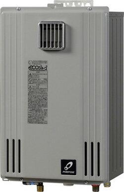 ♪ パーパス ガス給湯器【GS-H2400W-1】ecoジョーズ GSシリーズ 壁掛給湯専用タイプ 24号