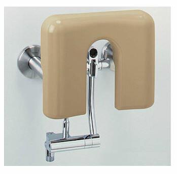 TOTO バリアフリー器具【EWCS810R】パウチ・しびん洗浄水栓付背もたれ(ソフトタイプ) ライニング専用 (旧品番 EWCS810)