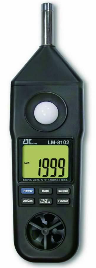 ###ωマザーツール【LM-8102】マルチ環境測定器