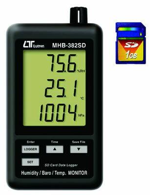 ###ωマザーツール【MHB-382SD】デジタル温湿度・気圧計