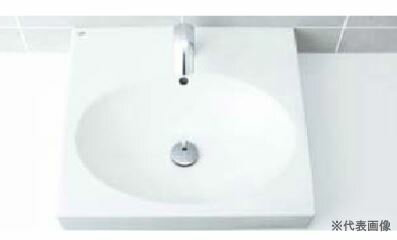 INAX 洗面器【L-546FCPR】角形洗面器(ベッセル式) 洗面器本体のみ