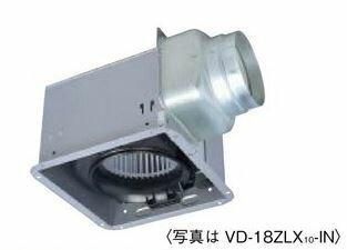 π三菱 換気扇【VD-18ZLXP10-IN】ダクト用換気扇 天井埋込形 接続パイプφ150mm (VD-18ZLXP9-INの後継機種)