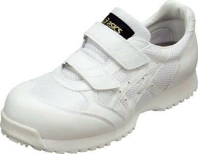 素晴らしい製品 ■〒アシックス/asics 【FIE30S.010124.5】 静電気帯電防止靴 ウィンジョブE30S 白X白 24.5cm