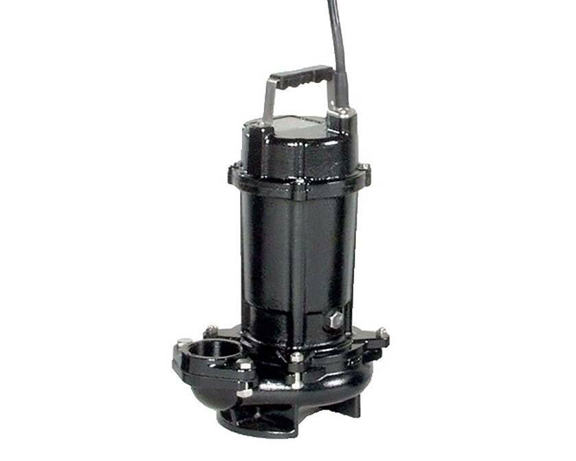エバラ/荏原【50DVS5.4SA】50Hz DVS型 雑排水用セミボルテックス水中ポンプ 単相100V