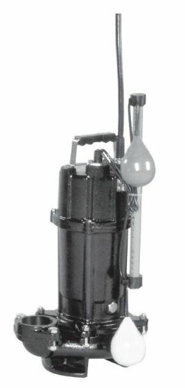エバラ/荏原【50DVSA5.15A】50Hz DVSA型 雑排水用セミボルテックス水中ポンプ 三相200V