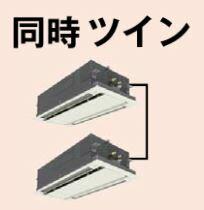 ###『カード対応OK��パナソニック 業務用エアコン�PA-SP160L5GD】Gシリーズ 分�管セット 冷暖房 2方�天井カセット形 �時ツイン エコナビ 三相200V