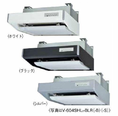 π三菱 レンジフードファン  フラットフード形 【V-603SHL2-BLR】ホワイト 右排気 接続パイプφ150mm 給気シャッター連動一体プラグ付 BL規格排気型III型