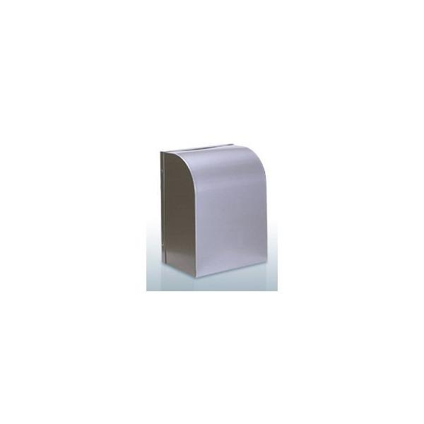 『カード対応OK!』西邦工業【WBD200BSC】角型フード・金網型3メッシュ・防音タイプ・防火ダンパー付防音型製品・ステンレス製換気口