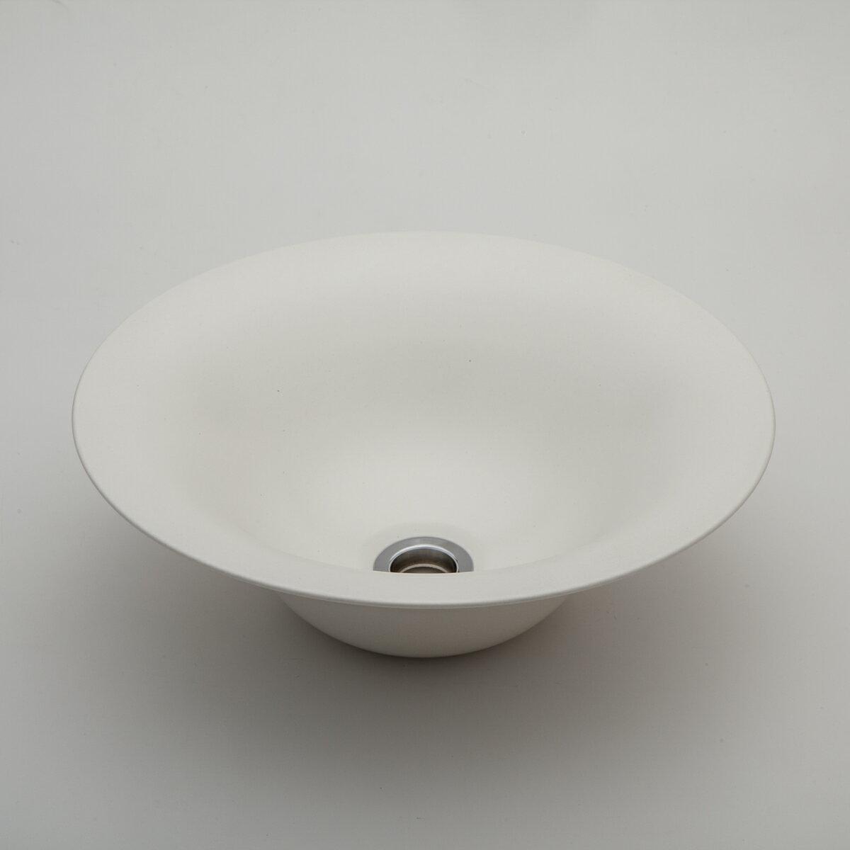 『カード対応OK!』###リラインス 置き型手洗器【LSM4-MO】(素白) (手洗器のみ) モノクロームシリーズ φ326 受注約2週間