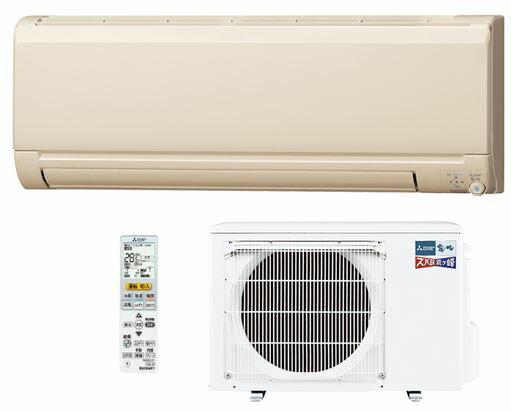 ###三菱 ルームエアコン【MSZ-KXV2817S T】2017年 (ブラウン) 寒冷地 KXVシリーズ 単相200V 主に10畳用 受注生産 (旧品番 MSZ-KXV2816S T)