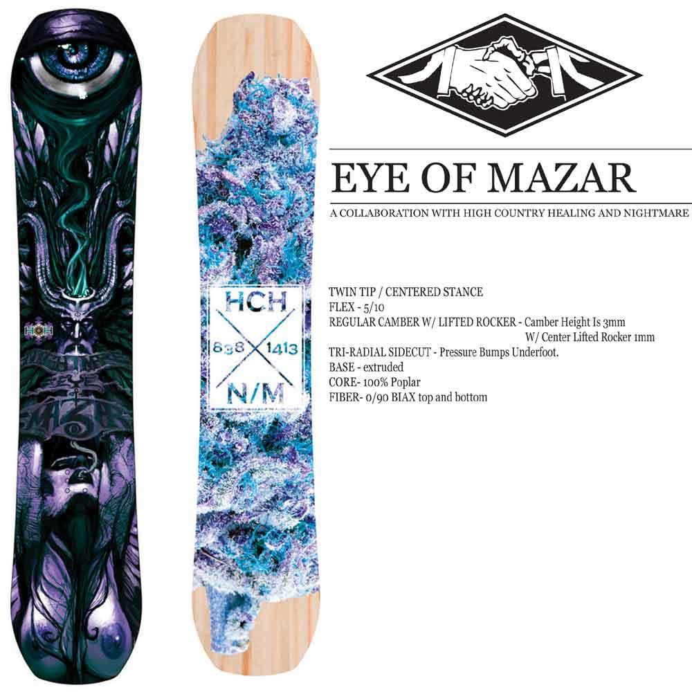 16-17 NIGHTMARE EYE OF MAZAR/NIGHTMARE スノーボード/ナイトメア スノーボード/NIGHTMARE/152