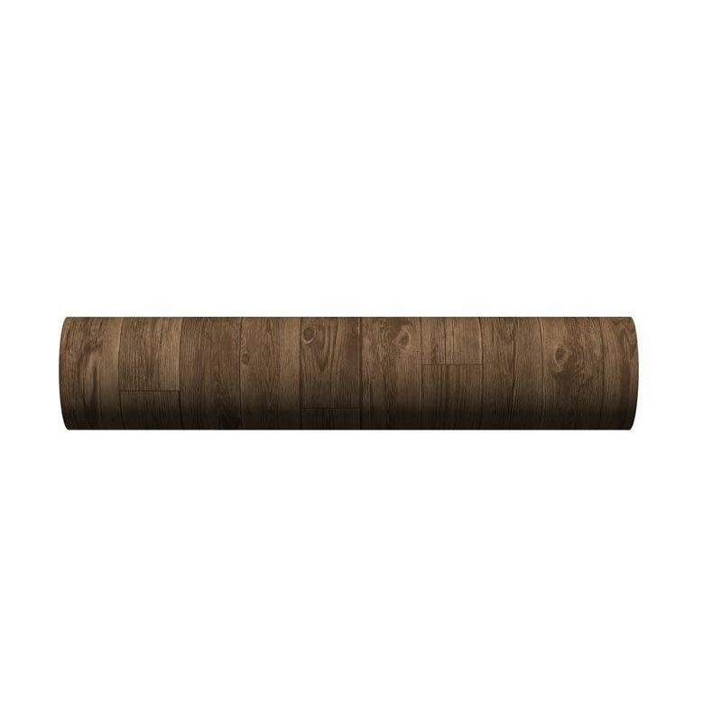貼ってはがせる!床用 リノベシート ロール物(一反) ブラウン(アンティーク木) 90cm幅×20m巻 REN-03R「他の商品と同梱不可」