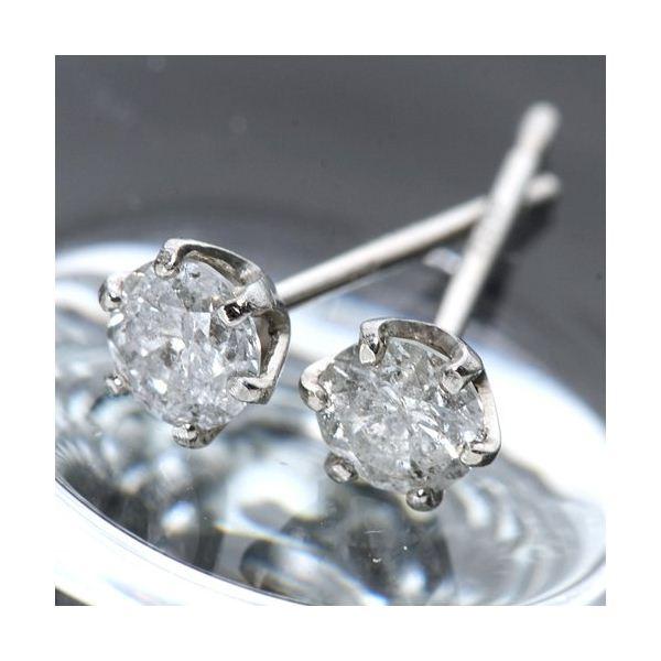 ◇プラチナ0.3ct ダイヤモンドピアス※他の商品と同梱不可